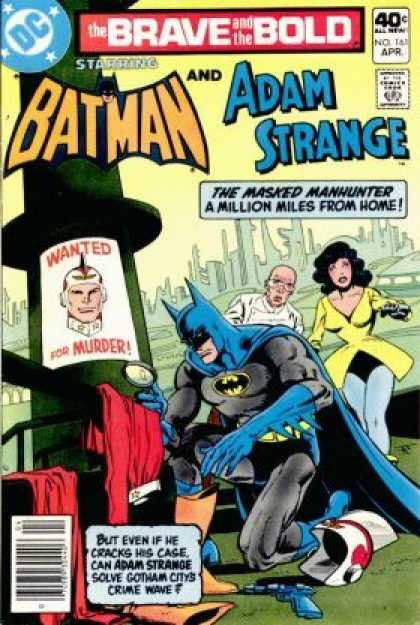 Brave and the Bold 161 - Dc - Dc Comics - Batman - Masked Manhunter - Crime - Jim Aparo
