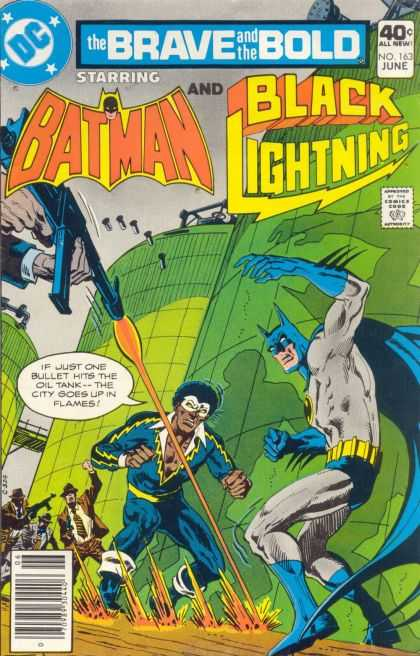 Brave and the Bold 163 - Batman - Black Lightning - Dc - African American - Caped Crusader - Jim Aparo