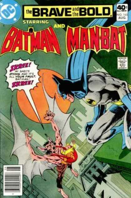 Brave and the Bold 165 - Batman - Man Bat - No 165 - August - Dc Comics - Jim Aparo