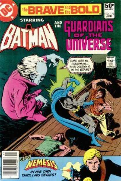 Brave and the Bold 173 - Dc Comics - Batman - Guardians Of The Universe - Nemesis - Dock - Jim Aparo
