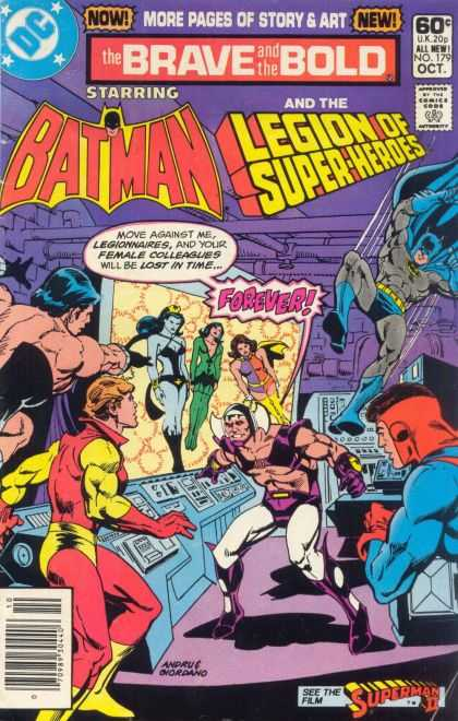 Brave and the Bold 179 - More Pages Of Story And Art - Dc - Batman - Legion Of Super-heros - Forever - Dick Giordano, Ross Andru