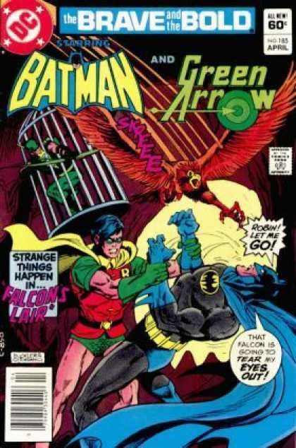 Brave and the Bold 185 - Batman - Green Arrow - Robin - Falcon - Strange - Dick Giordano, Richard Buckler