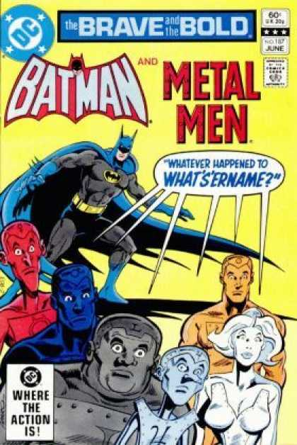 Brave and the Bold 187 - Dc - Batman - Metal Men - Question - Happened - Jim Aparo