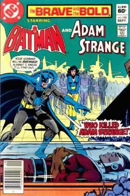 Brave and the Bold 190 - Jim Aparo
