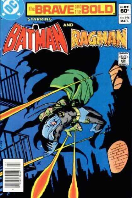 Brave and the Bold 196 - Batman - Ragman - Starring - Superhero - All New - Jim Aparo