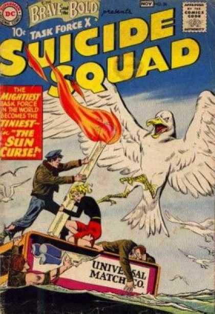 Brave and the Bold 26 - Match - Fire - Bird - The Sun Curse - Ocean