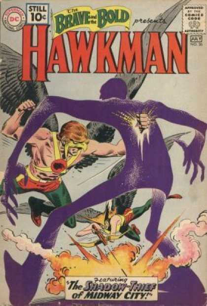 Brave and the Bold 36 - Hawkman - July - No 36 - Shadow-thief - Midway City