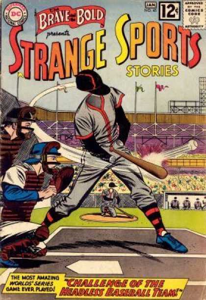 Brave and the Bold 45 - Strange Sports - Stories - Baseball - Baseball Bat - Batter