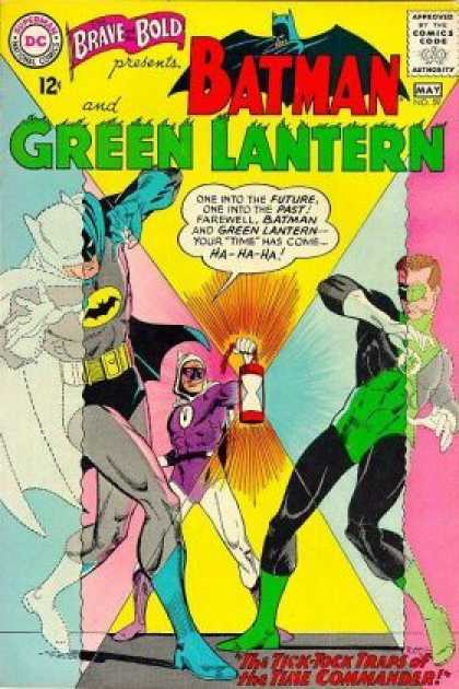 Brave and the Bold 59 - Green Lantern - Batman - Tick Tock - Commander - Time