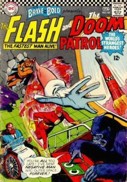 Brave and the Bold 65 - Dollar Comics - Superman - National Comics - Approved By The Comics Code Authority - The Flash