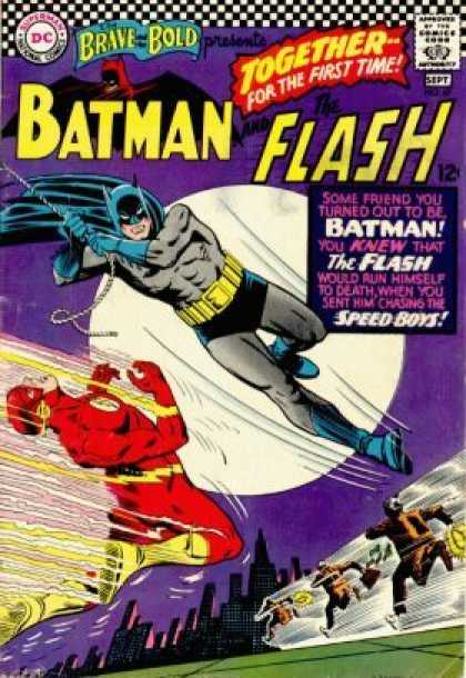 Brave and the Bold 67 - Batman - Dc - The Flash - Speed Boys - Superhero - Carmine Infantino