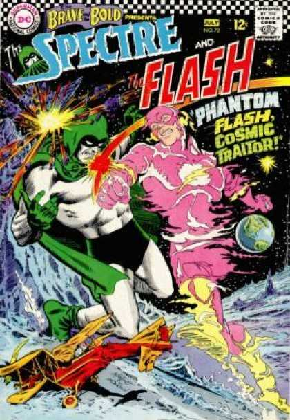Brave and the Bold 72 - Spectre - The Flash - Phantom - Battle - Costumes - Murphy Anderson