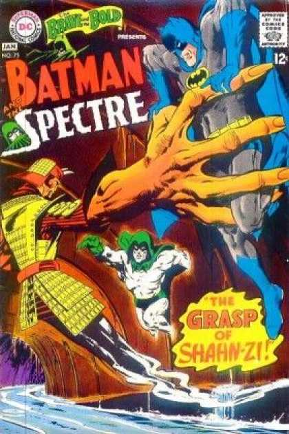 Brave and the Bold 75 - Grasp - Batman - Spectre - Shahn-zi - Water - Neal Adams