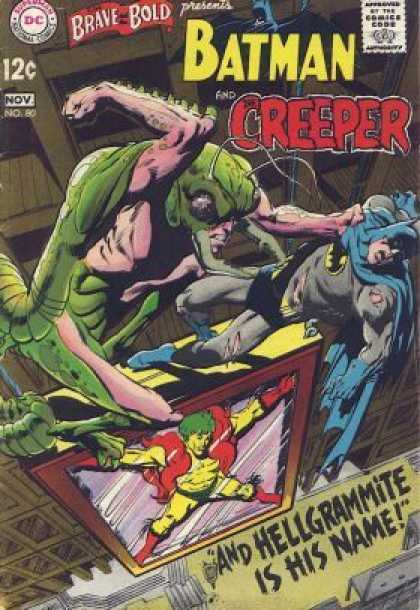 Brave and the Bold 80 - Dc - November - Creeper - Batman - 12 Cents - Neal Adams