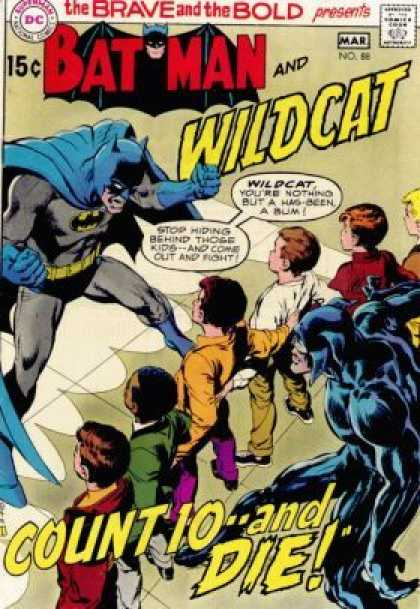 Brave and the Bold 88 - Dark Knight - Kids - Teamup - Angry Superhero - Bruce Wayne - Neal Adams