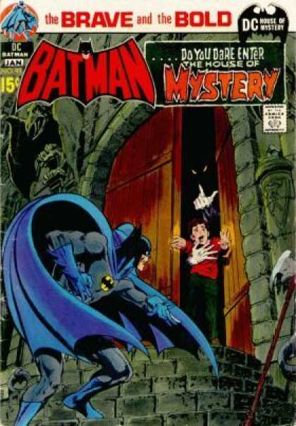 Brave and the Bold 93 - Dc - Batman - January - House Of Mystery - Wooden Door - Neal Adams