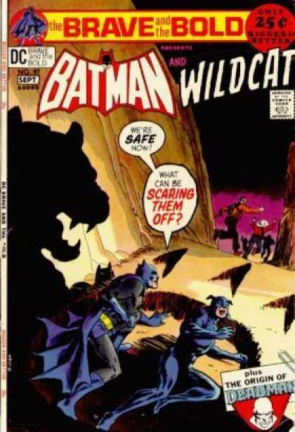 Brave and the Bold 97 - Batman Vs Beast - Batmans Twin - People Flee From Cat - Batman Falls Down - Huge Pawprint - Nick Cardy
