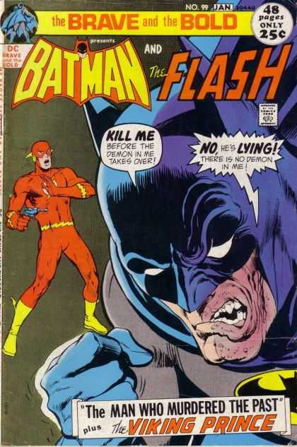 Brave and the Bold 99 - Batman - The Flash - Dc Comics - The Viking Prince - Yellow Boots - Neal Adams