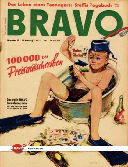 Bravo - 32/58, 05.08.1958 - Illustration
