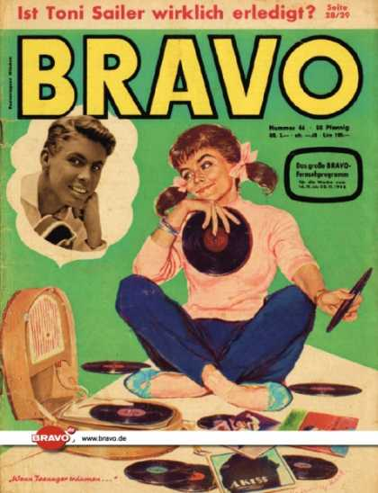 Bravo - 46/58, 11.11.1958 - Illustration & Peter Kraus