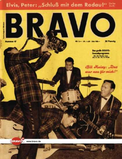 Bravo - 47/58, 18.11.1958 - Bill Haley und Band