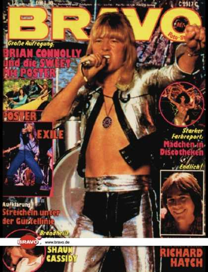 Bravo - 12/79, 15.03.1979 - Brian Connolly (The Sweet)