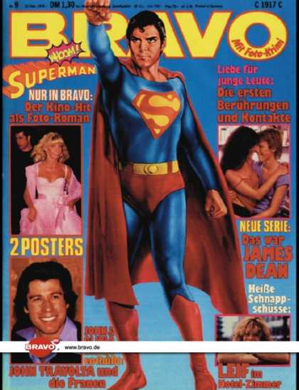 Bravo - 09/79, 22.02.1979 - Christopher Reeve