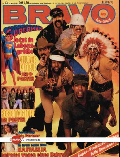 Bravo - 13/79, 22.03.1979 - Village People