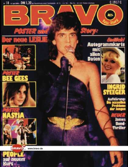 Bravo - 18/79, 26.04.1979 - Leslie McKeown (Bay City Rollers)