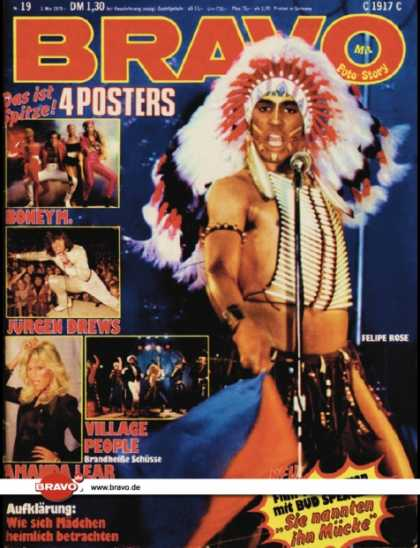 Bravo - 19/79, 03.05.1979 - Felipe Rose (Village People)