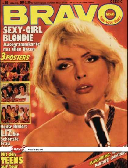 Bravo - 20/79, 10.05.1979 - Debbie Harry