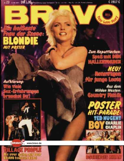 Bravo - 23/79, 31.05.1979 - Debbie Harry