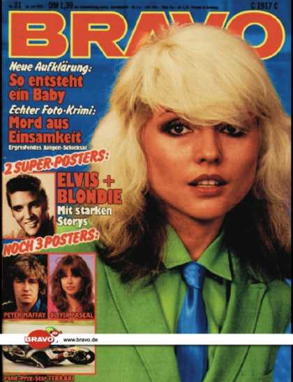 Bravo - 31/79, 26.07.1979 - Debbie Harry