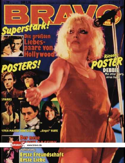 Bravo - 39/79, 20.09.1979 - Debbie Harry