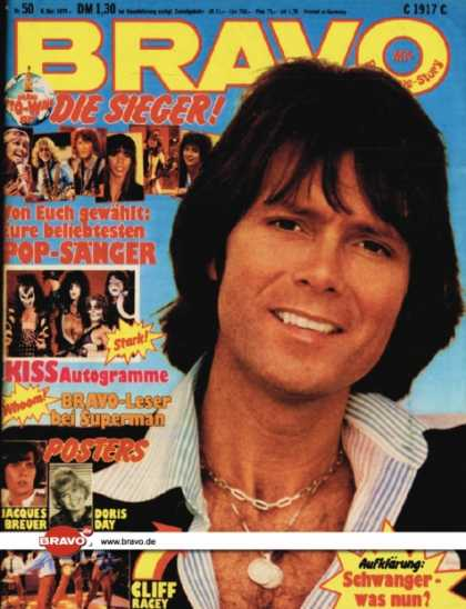 Bravo - 50/79, 06.12.1979 - Cliff Richard