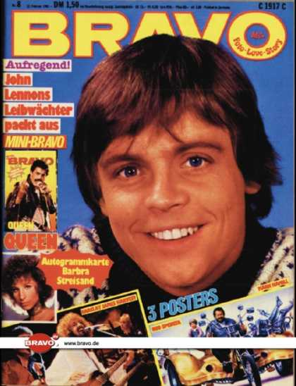 Bravo - 08/81, 12.02.1981 - Mark Hamill (Star Wars)