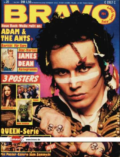 Bravo - 20/81, 07.05.1981 - Adam Ant (Adam & the Ants)