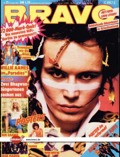 Bravo - 35/81, 20.08.1981 - Adam Ant (Adam & the Ants)