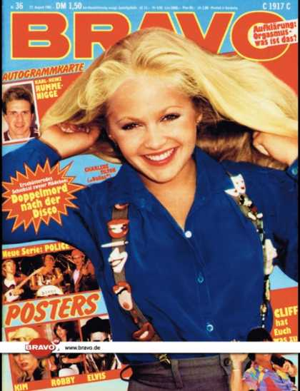 Bravo - 36/81, 27.08.1981 - Charlene Tilton (Dallas, TV Serie)
