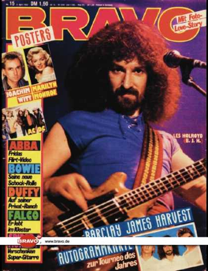 Bravo - 15/82, 08.04.1982 - Les Holroyd (Barclay James Harvest)