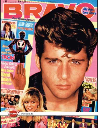 Bravo - 37/82, 09.09.1982 - Maxwell Caulfield