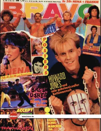 Bravo - 13/84, 22.03.1984 - Howard Jones
