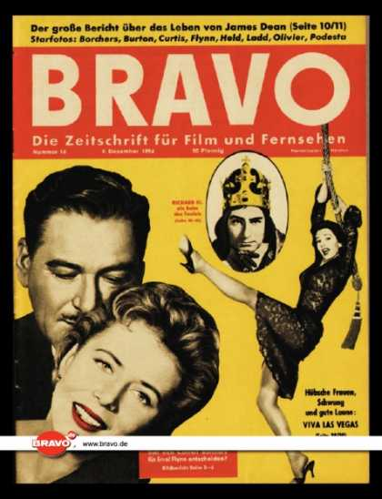 Bravo - 16/56, 09.12.1956 - Errol Flynn & Cornell Borchers