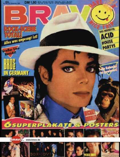 Bravo - 51/88, 15.12.1988 - Michael Jackson