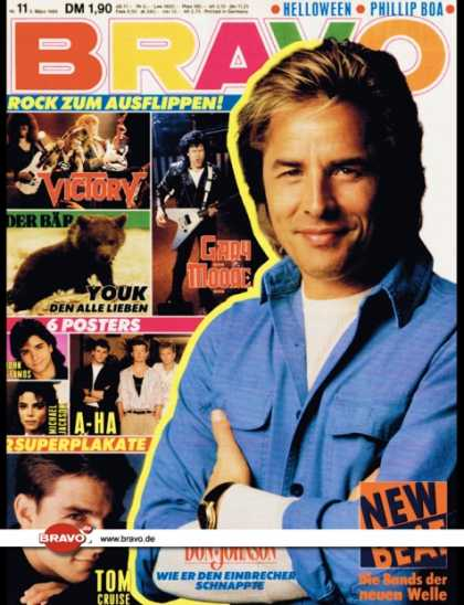 Bravo - 11/89, 09.03.1989 - Don Johnson (Miami Vice, TV Serie)