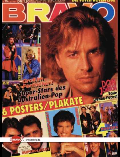 Bravo - 15/89, 06.04.1989 - Don Johnson