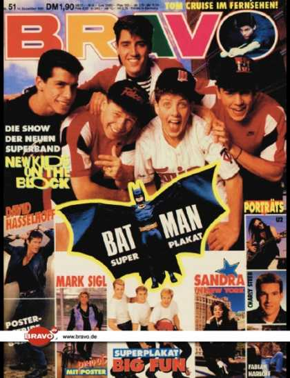 Bravo - 51/89, 14.12.1989 - New Kids on the Block