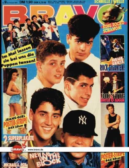 Bravo - 09/90, 22.02.1990 - New Kids on the Block - Roxette