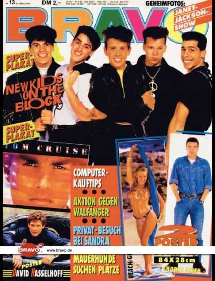 Bravo - 13/90, 22.03.1990 - New Kids on the Block