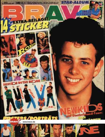 Bravo - 20/90, 10.05.1990 - Joey McIntyre (New Kids on the Block)